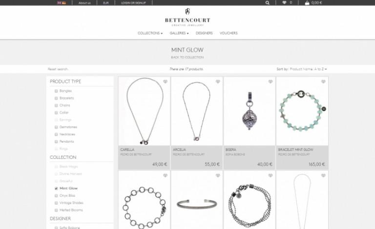 portfolio 6/12  - Ecommerce & Digital Marketing   Bettencourt Creative Jewellery