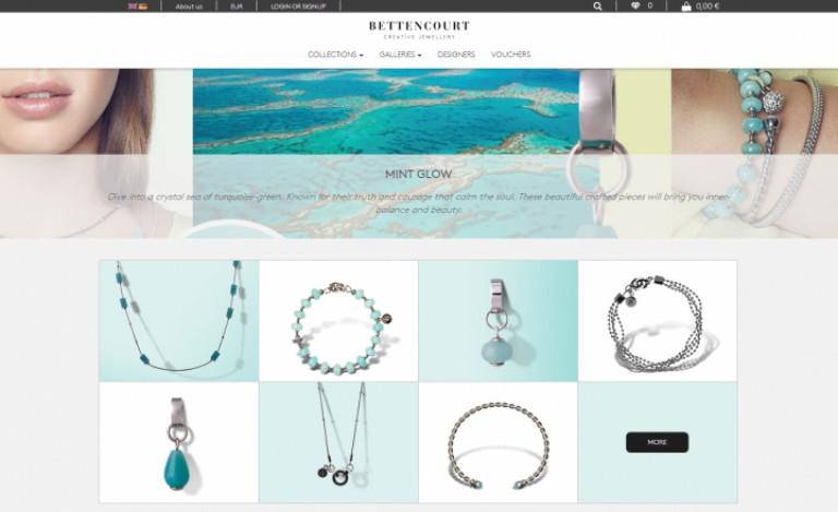 portfolio 5/12  - Ecommerce & Digital Marketing   Bettencourt Creative Jewellery
