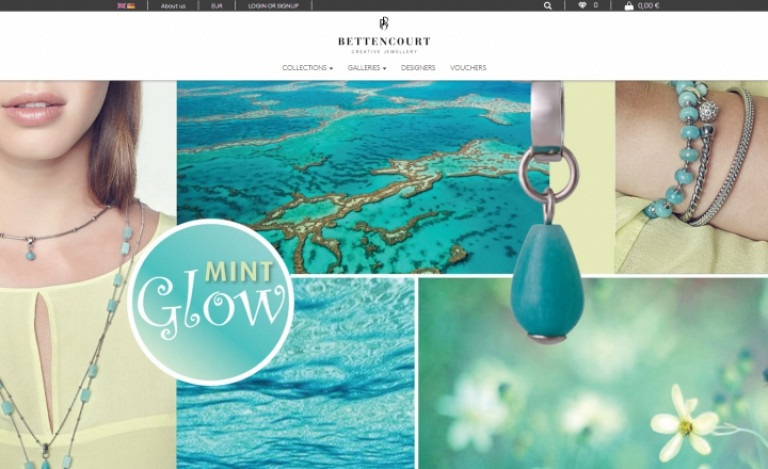 portfolio 4/12  - Ecommerce & Digital Marketing   Bettencourt Creative Jewellery