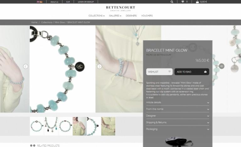 portfolio 7/12  - Ecommerce & Digital Marketing   Bettencourt Creative Jewellery
