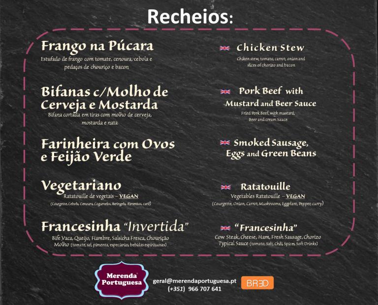 portfolio 7/7  - Recheios