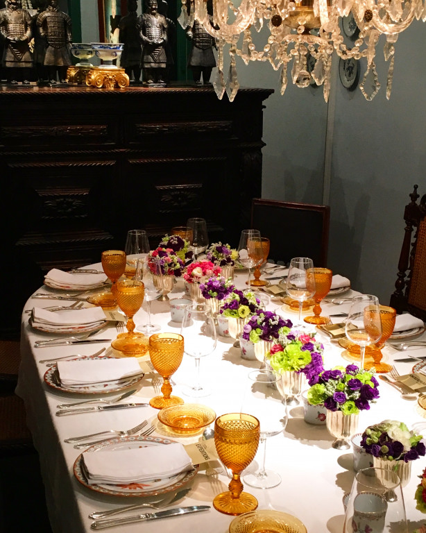 portfolio 7/7  - Jantar em casa particular