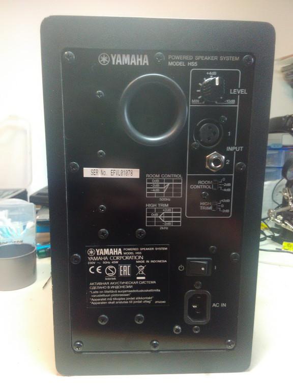 portfolio 15/54  - Reparação Yamaha HS5