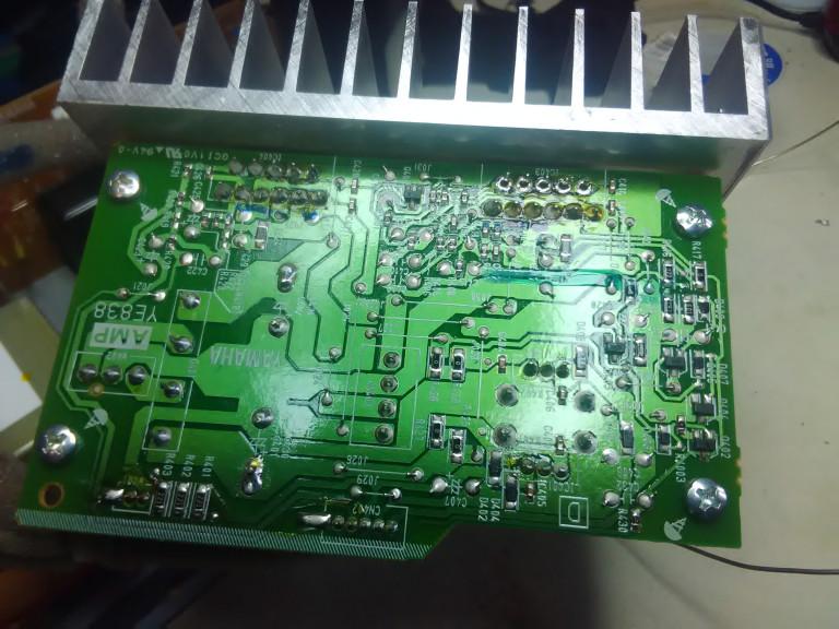 portfolio 13/54  - Reparação Yamaha HS5