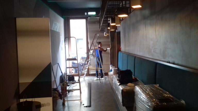portfolio 1/19  - Restaurante feito de raiz a qual tambem fazemos manutencao de limpeza todas as segundas