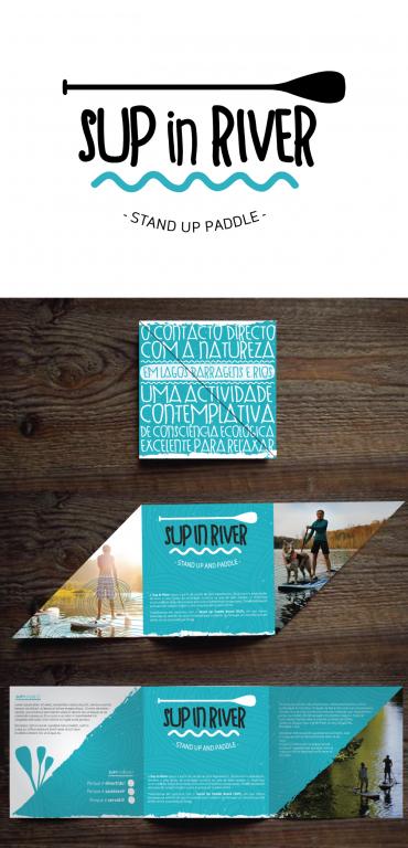 portfolio 2/3  - Identidade | Packaging : SUP in RIVER