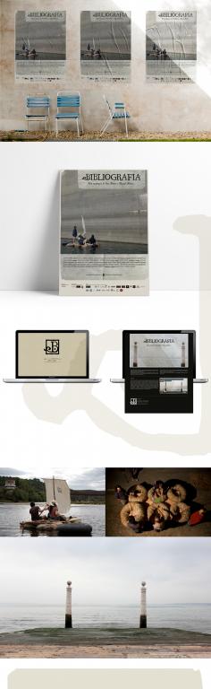 portfolio 1/3  - Identidade | Poster : Bibliogragifia