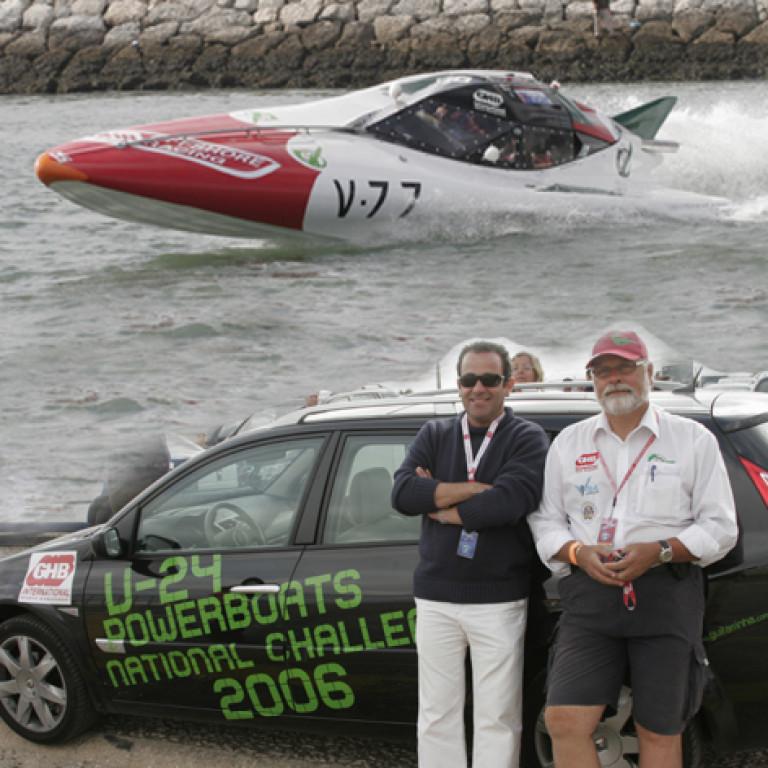 portfolio 2/4  - V24 Powerboats National Challenge 2006