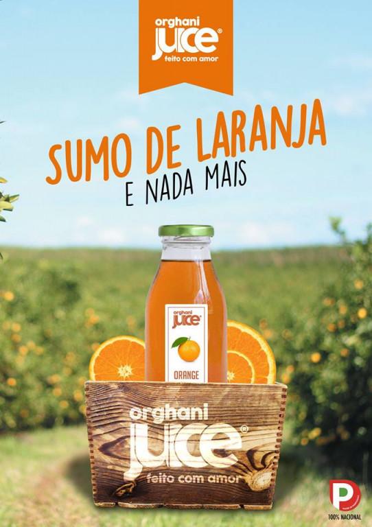 portfolio 6/12  - Publicidade A4 Orghani Juice