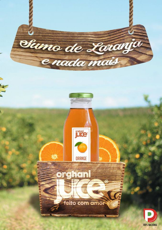 portfolio 7/12  - Publicidade A4 Orghani Juice