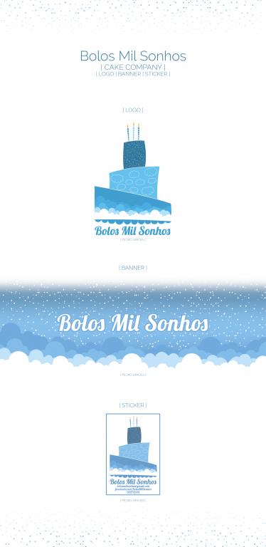 portfolio 4/6  - Bolos Mil Sonhos | Branding
