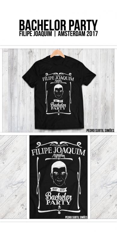 portfolio 2/6  - Despedida Solteiro | T-shirt Design