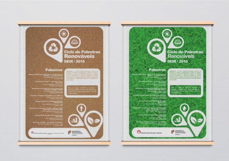 portfolio 6/10  - Posters A2 // Ministério da Economia