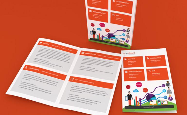 portfolio 14/84  - Design Gráfico- Bizdirect
