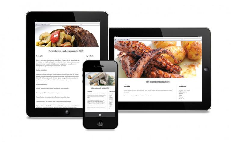 portfolio 9/84  - Website Chefe Miguel Castro Silva