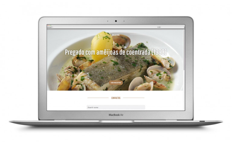 portfolio 12/84  - Website Chefe Miguel Castro Silva