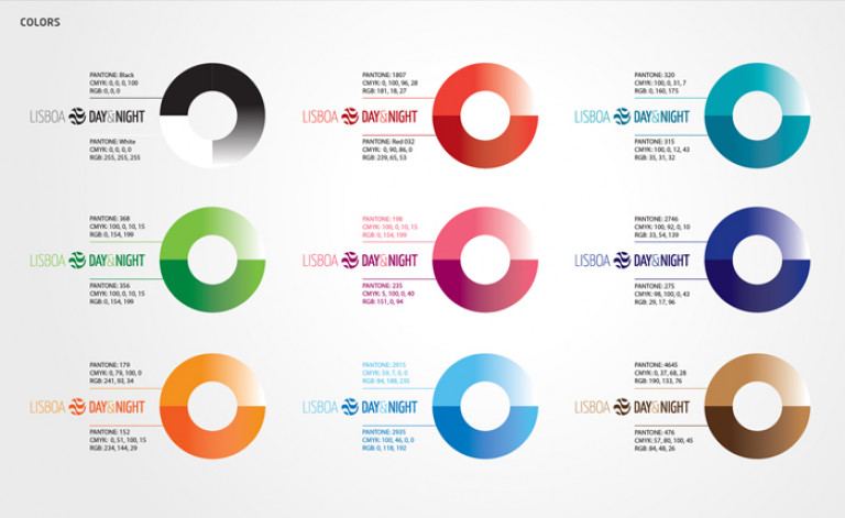 portfolio 70/84  - Branding- Guia Lisbon Day / Night