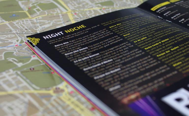 portfolio 58/84  - Paginação e Produção- Guia Day/ Night