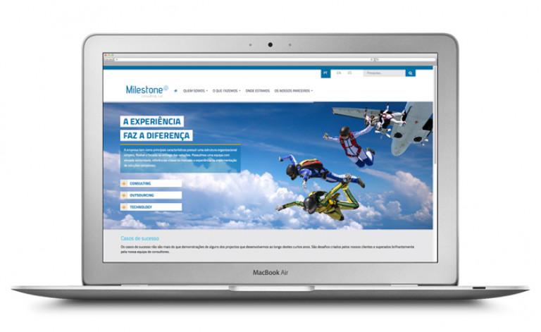 portfolio 30/84  - Website- Milestone