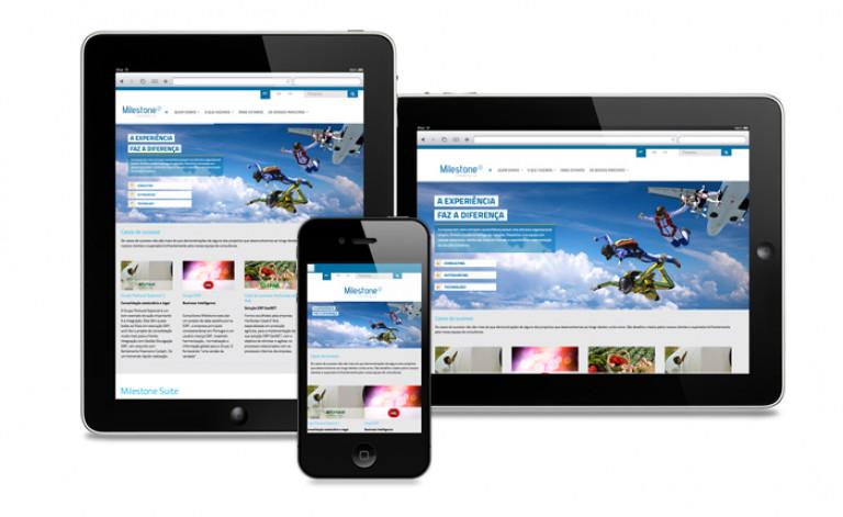 portfolio 32/84  - Website- Milestone