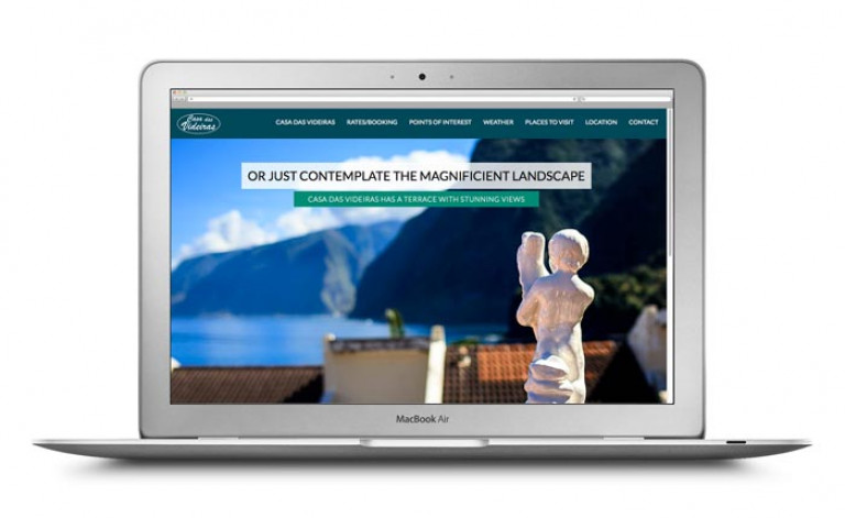 portfolio 24/84  - Website- Turismo- Casa das Videiras