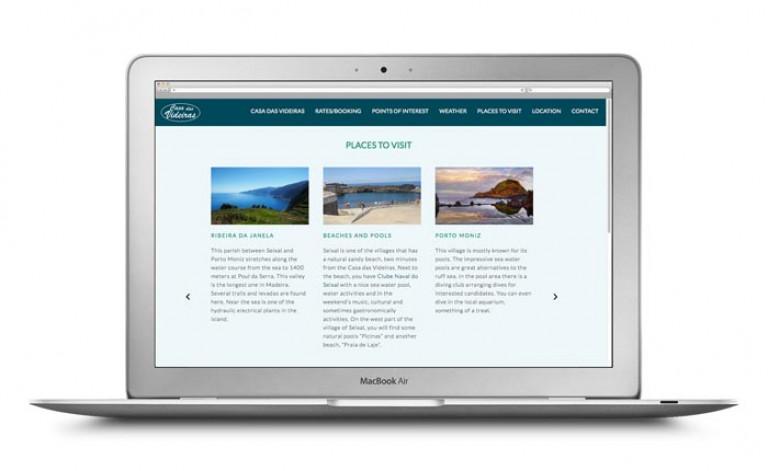 portfolio 27/84  - Website- Turismo- Casa das Videiras