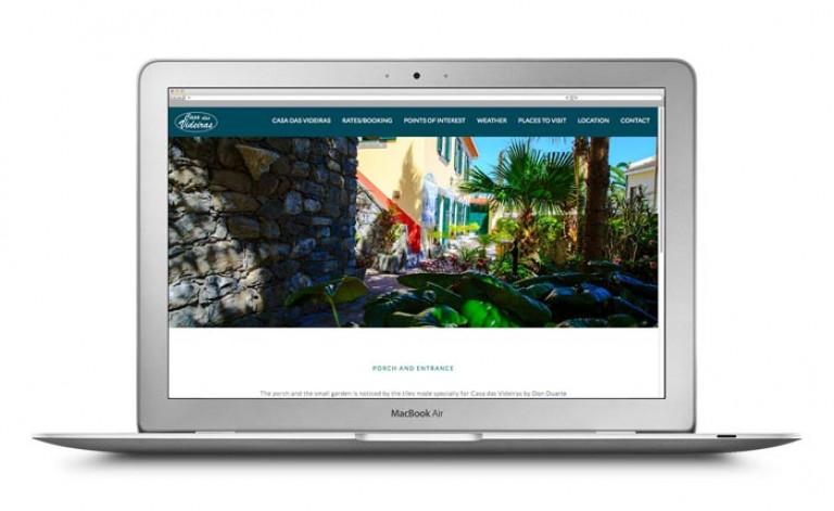 portfolio 29/84  - Website- Turismo- Casa das Videiras
