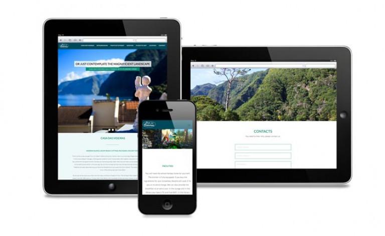 portfolio 25/84  - Website- Turismo- Casa das Videiras