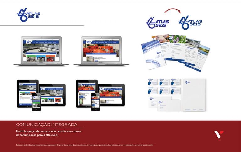 portfolio 4/39  - Múltiplas peças em diversos meios para Atlas Seis - 1