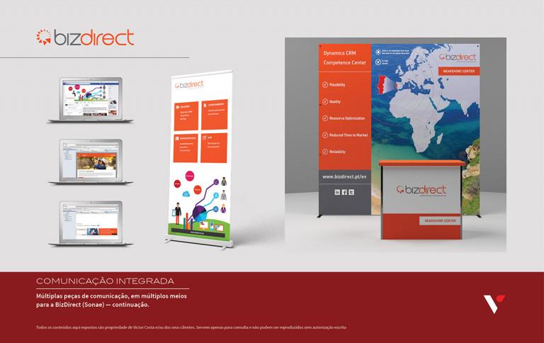 portfolio 10/39  - Múltiplas peças em diversos meios para BizDirect - 2