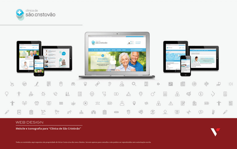 portfolio 19/39  - Website Clínica de São Cristóvão
