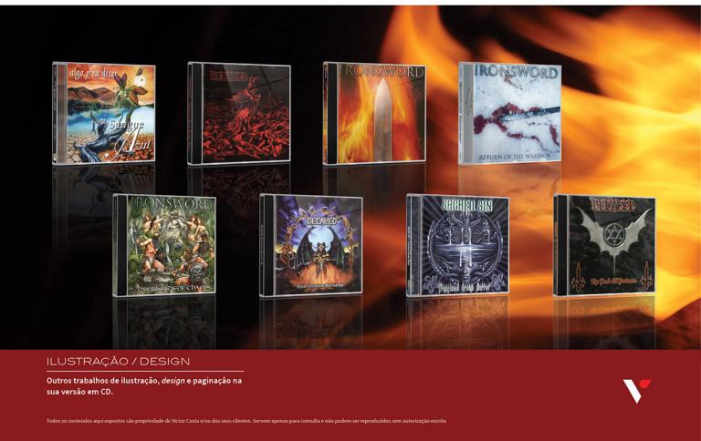 portfolio 31/39  - Diversos CD musicais