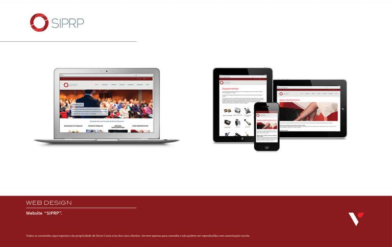 portfolio 21/39  - Website SIPRP
