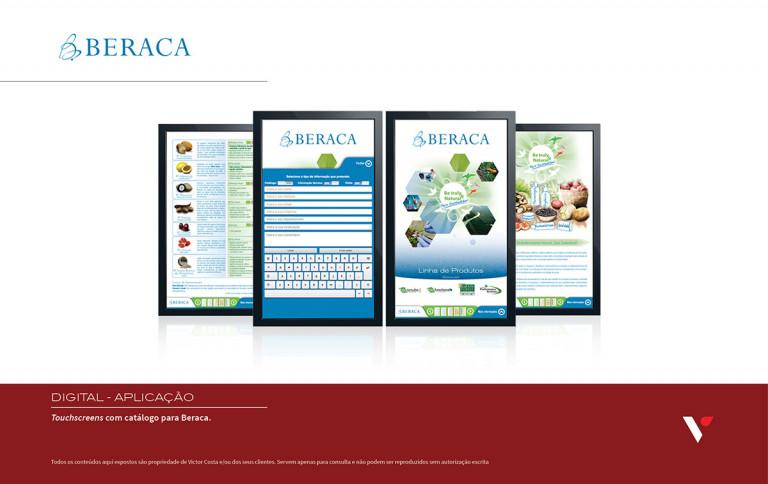 portfolio 25/39  - Touchscreen informativo para Beraca