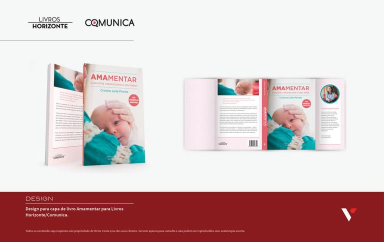 portfolio 18/39  - Capa de livro para Livros Horizonte/Comunica