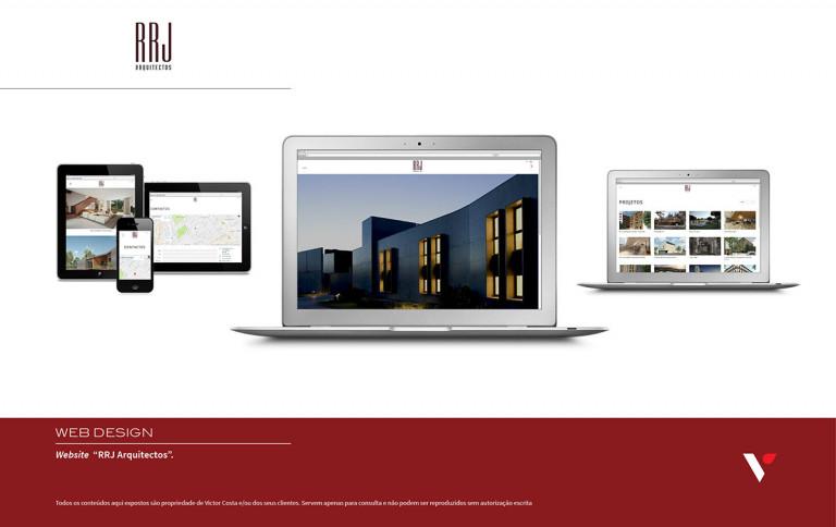 portfolio 20/39  - Website RRJ Arquitectos