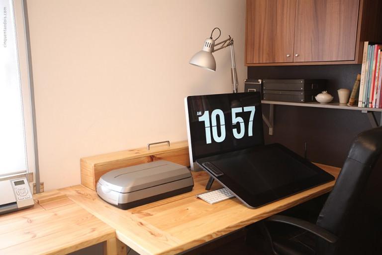 portfolio 12/41  -  Construção de mesa de computador