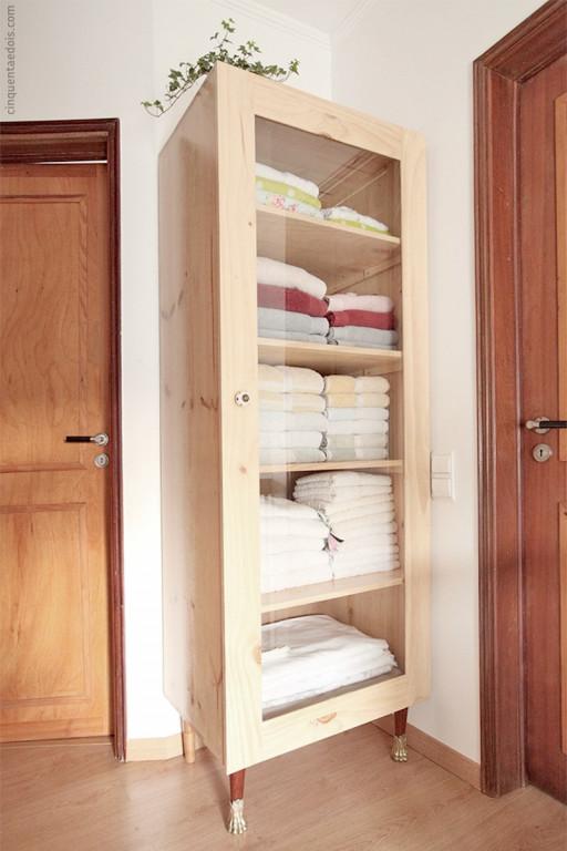 portfolio 6/36  - Construção de armário em madeira
