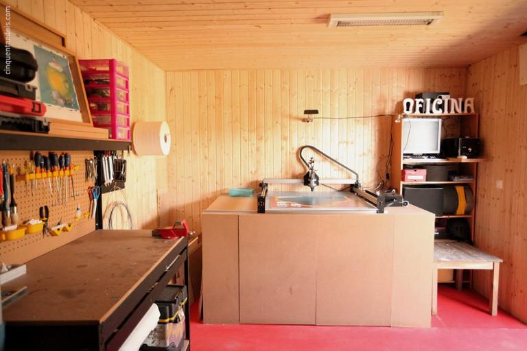 portfolio 27/36  - Aplicação de revestimento de parede e tecto em madeira