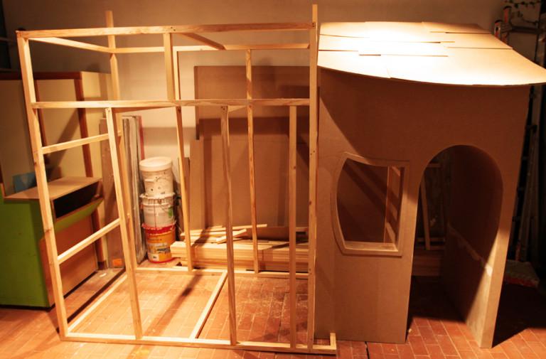 portfolio 11/36  - Construção de ilha do Pai Natal em centro comercial