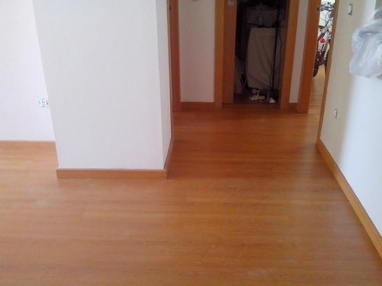 portfolio 16/36  - Aplicação de pavimento flutuante em apartamento