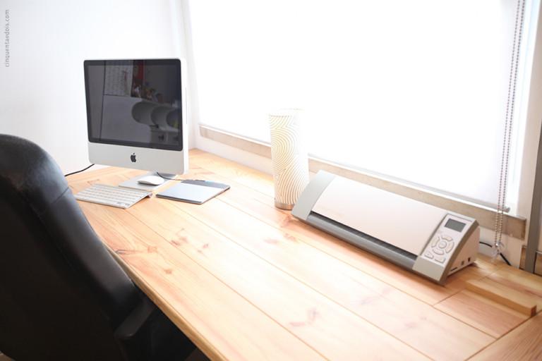 portfolio 4/36  -  Construção de mesa de computador