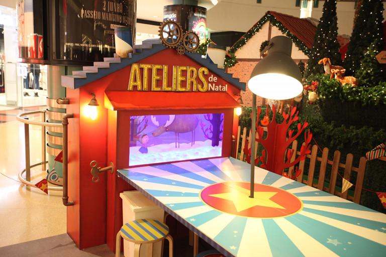 portfolio 15/41  - Construção de espaço de ateliers para crianças em centro comercial