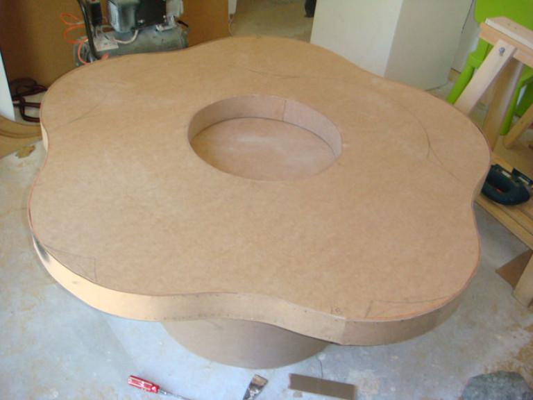 portfolio 28/36  - Construção de mesa infantil para centro comercial