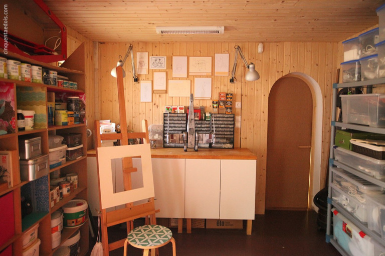 portfolio 26/36  - Aplicação de revestimento de parede e tecto em madeira