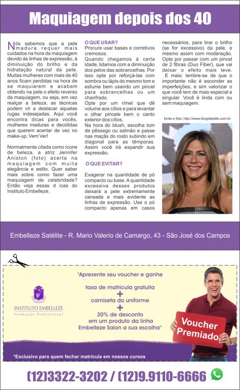 portfolio 1/23  - Página pra Revista (Anunciate Embelleze)
