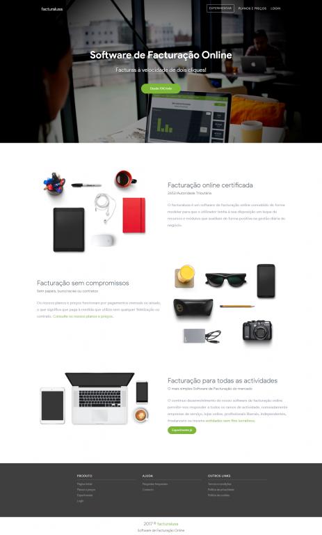 portfolio 1/5  - Facturalusa - Software de Facturação