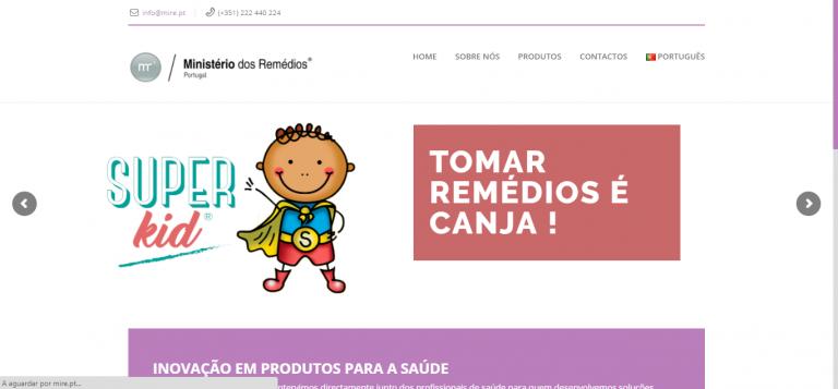 portfolio 3/5  - Mire - Ministério dos Remédios
