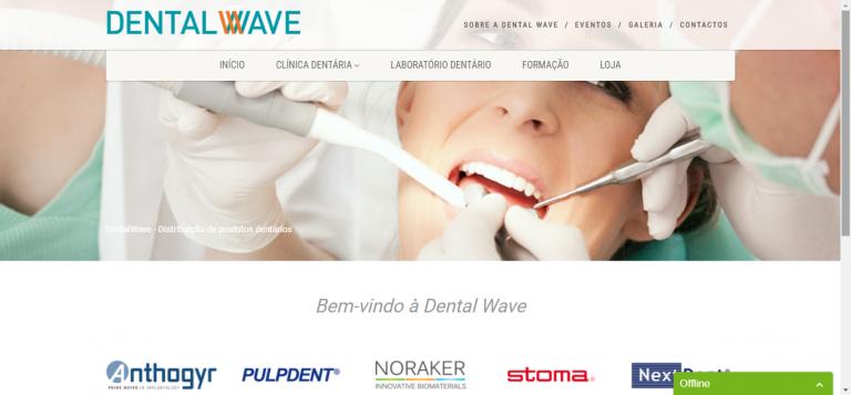 portfolio 5/5  - Dentalwave - Distribuição de produtos dentários