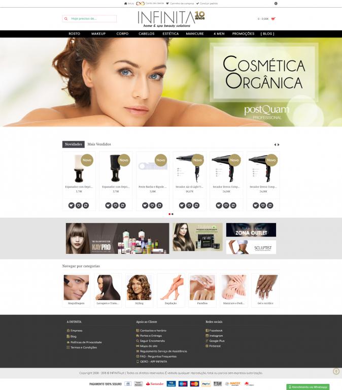 portfolio 2/5  - Infinita - Beautify Solutions